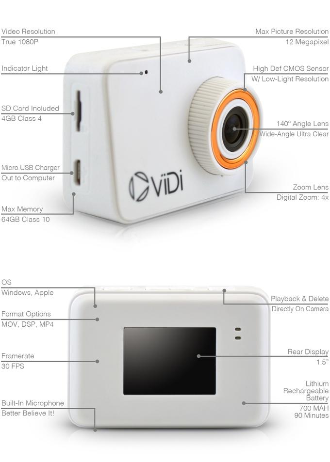 vidi-camera-especificaciones