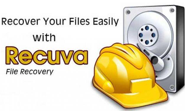 Recupera los documentos perdidos en tu PC con Recuva