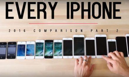 Comparativa de iPhones en diferentes pruebas. ¿Cuál es el mejor?