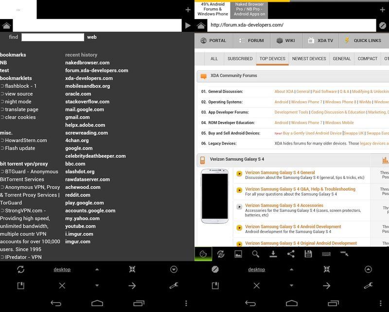 Naked Browser Pro aplicaciones espia