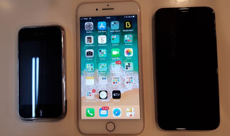 iphone x iphone 1 iphone 7 plus