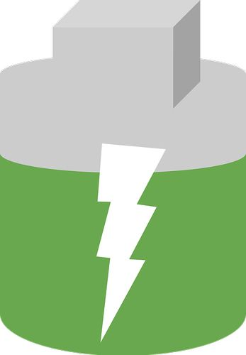 batería-verde