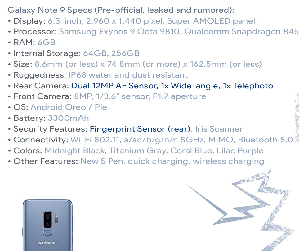 Galaxy-Note-9-especificaciones
