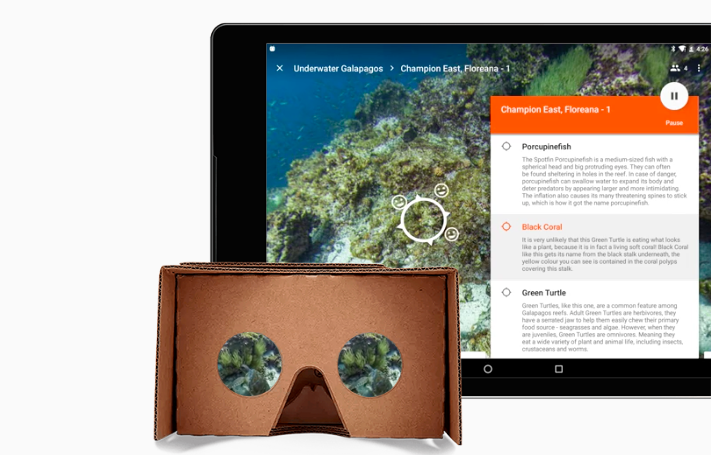 Google Expeditions Carboard