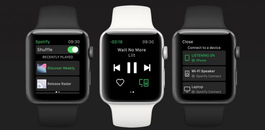 Apple Watch-Spotify