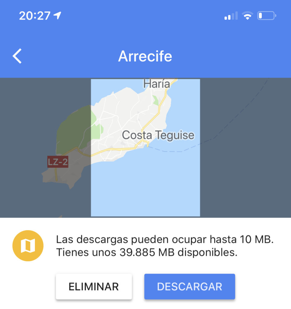 Google Maps iOS