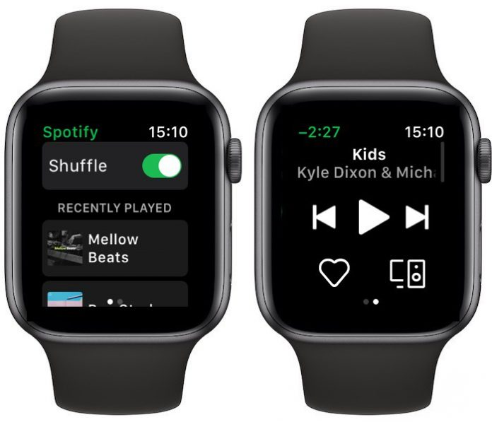 Spotify-Apple Watch